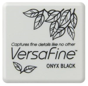 Versafine Ink Pad Mini - Onyx Black